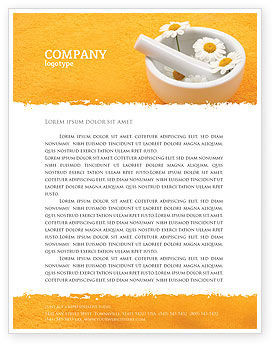 Herbal Medicine Letterhead Template