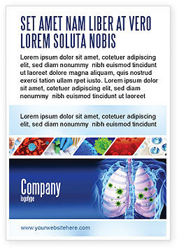 Medical: Pulmonology Ad Template #06243