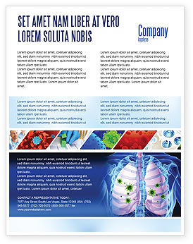 Medical: Pulmonology Flyer Template #06243