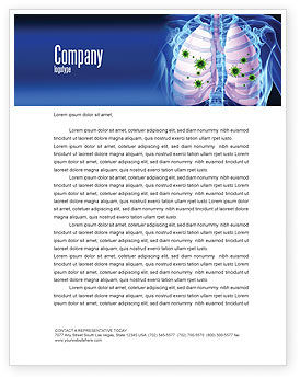 Medical: Pulmonology Letterhead Template #06243