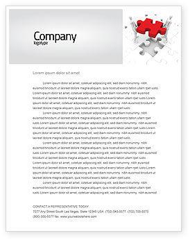 Handling Letterhead Template, 06255, Consulting — PoweredTemplate.com