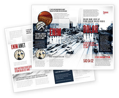 City Highway Brochure Template