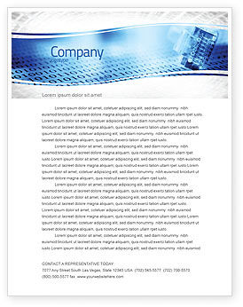 Technology, Science & Computers: Digital Life Letterhead Template #06265