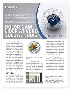 Global: World Outlook Newsletter Template #06277
