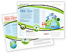 Nature & Environment: Groene Stad Brochure Template #06283