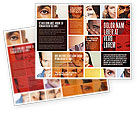 People: Human Emotions Brochure Template #06290