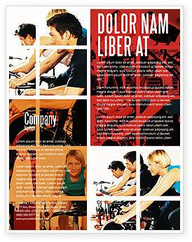 Sport Gym Flyer Template, 06294, Sports — PoweredTemplate.com
