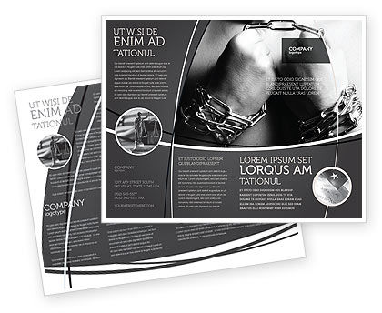 Chained Man Brochure Template