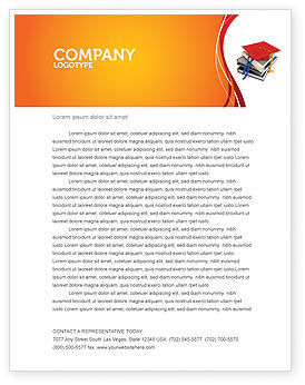 Education & Training: Higher Education Letterhead Template #06324