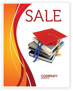 Education & Training: Higher Education Sale Poster Template #06324