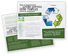 Nature & Environment: Recycle Brochure Template #06325