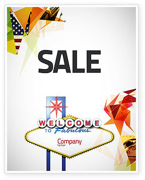 Welcoming Billboard Sale Poster Template, 06333, Careers/Industry — PoweredTemplate.com
