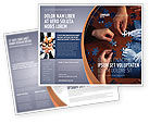 Business Concepts: Team Building Puzzle Brochure Template #06348