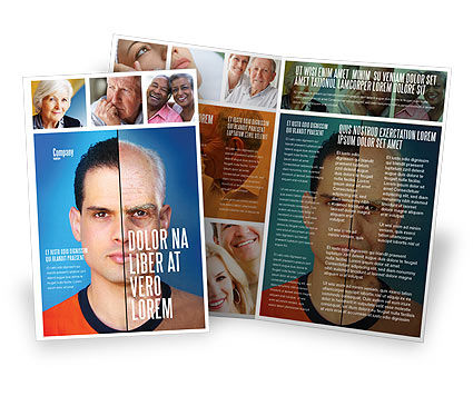 Ageing Brochure Template