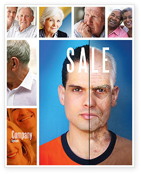 Medical: Ageing Sale Poster Template #06349