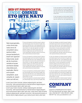 Business Concepts: Templat Flyer Kaca Catur #06365
