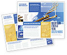 Consulting: Rope Ladder Brochure Template #06366