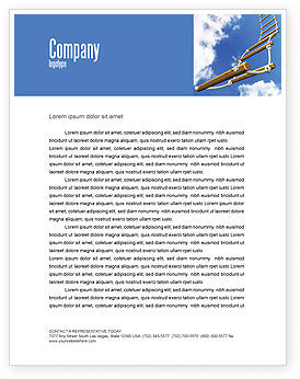 Consulting: Rope Ladder Letterhead Template #06366