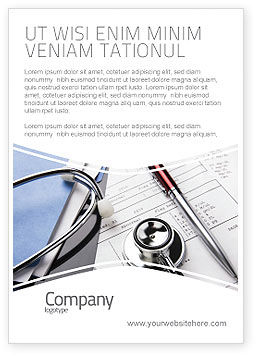 Medical: Medical Record For Analysis Ad Template #06369