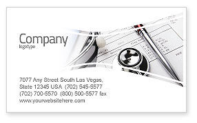 Medical Record For Analysis Business Card Template, 06369, Medical — PoweredTemplate.com