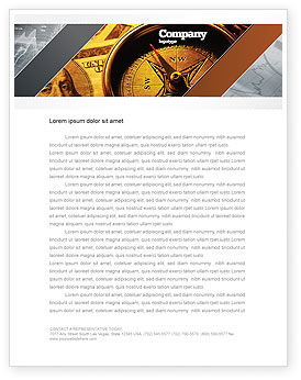 Consulting: Money Compass Letterhead Template #06377