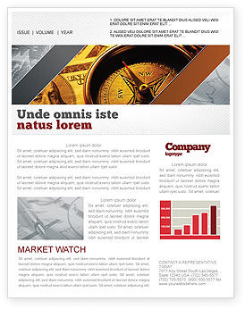 Consulting: Money Compass Newsletter Template #06377