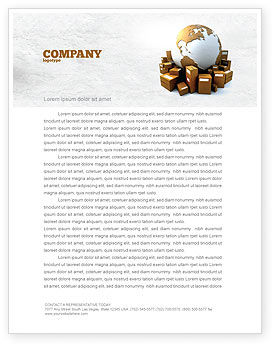 Packages Letterhead Template, 06394, Careers/Industry — PoweredTemplate.com