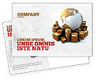 Careers/Industry: Packages Postcard Template #06394