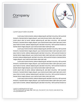 Top Management Letterhead Template