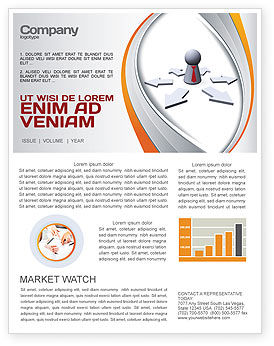 Consulting: Top Management Newsletter Template #06438