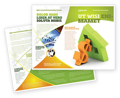 Mortgage Money Brochure Template Design and Layout Download Now – Mortgage Templates