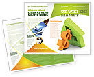 Financial/Accounting: Modello Brochure - Soldi mutuo #06459