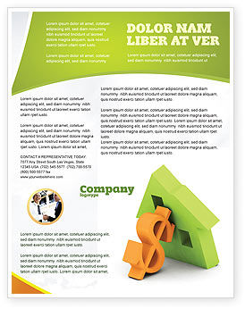 Financial/Accounting: Hypothek geld Flyer Vorlage #06459