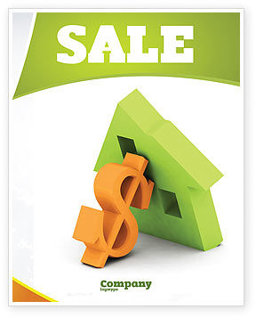 Mortgage Money Sale Poster Template, 06459, Financial/Accounting — PoweredTemplate.com