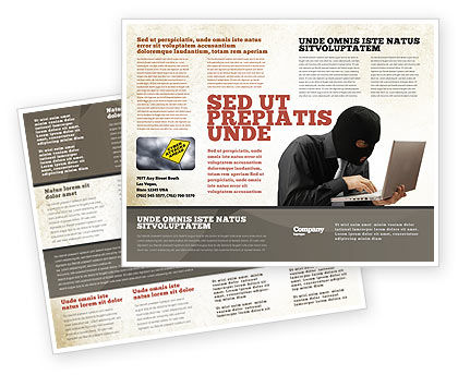 Legal: Hacking Brochure Template #06485