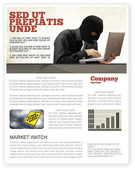 Legal: Hacking Newsletter Template #06485
