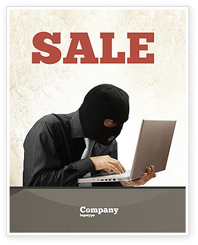 Legal: Hacking Sale Poster Template #06485
