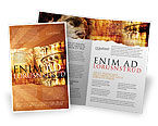 Flags/International: Italian Renascence Brochure Template #06488