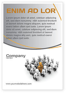 Education & Training: Relief Ad Template #06509