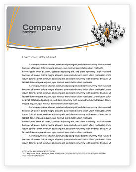 Education & Training: Relief Letterhead Template #06509