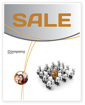 Education & Training: Relief Sale Poster Template #06509