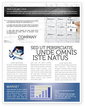 Financial Planning Newsletter Template, 06534, Consulting — PoweredTemplate.com