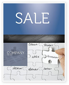 Financial Planning Sale Poster Template