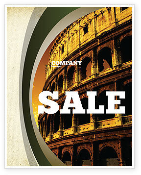 Construction: Colosseum Poster Template #06549