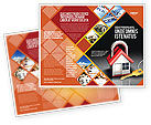 Financial/Accounting: Turnkey House Brochure Template #06556