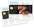 Holiday/Special Occasion: Carnaval Draak Brochure Template #06572