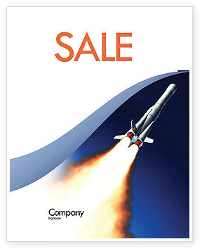 Launch Sale Poster Template, 06584, Technology, Science & Computers — PoweredTemplate.com