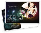People: Hi-Tech Baby Postcard Template #06585