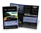 Cars/Transportation: High Speed Driving Brochure Template #06591