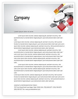 Financial/Accounting: Monetary Reserves Letterhead Template #06600